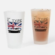 Cute Race flag Drinking Glass