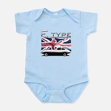 UK flag E-type Jag Body Suit