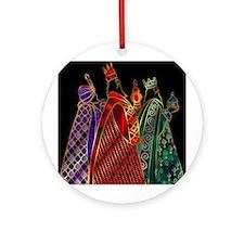 Wise Men Ornament (Round)