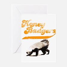 TEAM Honey Badger Vintage Greeting Cards (Pk of 10