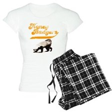 TEAM Honey Badger Vintage Pajamas