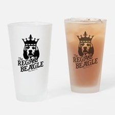 Regal Beagle Drinking Glass