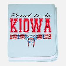Proud to be Kiowa baby blanket