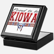Proud to be Kiowa Keepsake Box