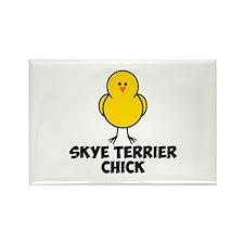 Skye Terrier Chick Rectangle Magnet (100 pack)