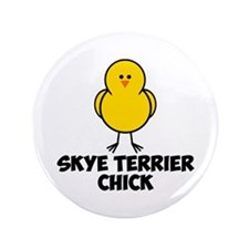 """Skye Terrier Chick 3.5"""" Button (100 pack)"""