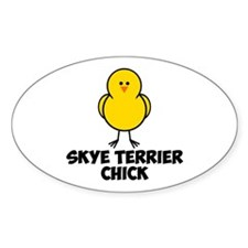 Skye Terrier Chick Decal
