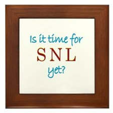 Time For SNL? Framed Tile