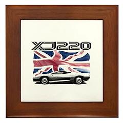 XJ220 Framed Tile