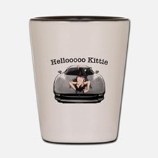 XJ220 Helloooo Kittie Shot Glass