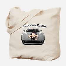 XJ220 Helloooo Kittie Tote Bag
