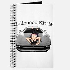 XJ220 Helloooo Kittie Journal