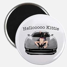 XJ220 Helloooo Kittie Magnet