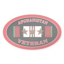Afghanistan Veteran 3 campaign stars Decal
