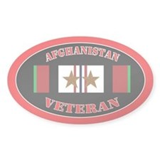 Afghanistan Veteran 2 Campaign Stars Decal