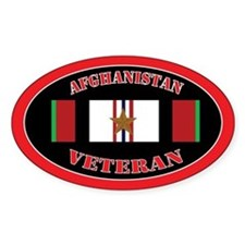 Afghanistan Veteran 1 Campaign Star Decal