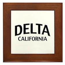 Delta California Framed Tile
