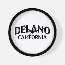 Delano California Wall Clock