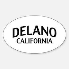 Delano California Decal