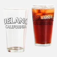 Delano California Drinking Glass