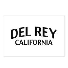 Del Rey California Postcards (Package of 8)