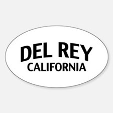 Del Rey California Decal