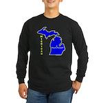 MI-Mt. Pleasant Long Sleeve Dark T-Shirt