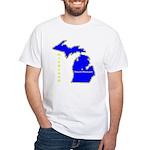 MI-Mt. Pleasant White T-Shirt