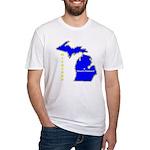 MI-Mt. Pleasant Fitted T-Shirt