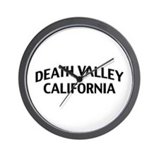 Death Valley California Wall Clock