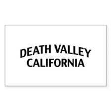 Death Valley California Decal