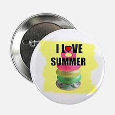 I LOVE SUMMER Button