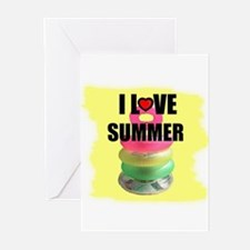 I LOVE SUMMER Greeting Cards (Pk of 10)