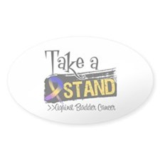 Take a Stand Bladder Cancer Decal
