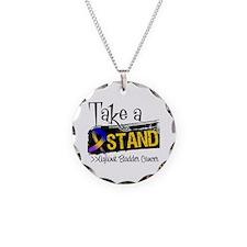 Take a Stand Bladder Cancer Necklace