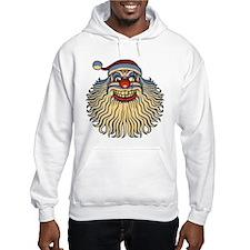 Scary Santa Clown Hoodie