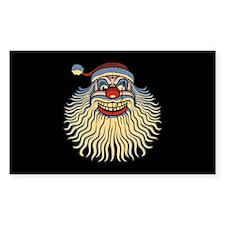 Scary Santa Clown Decal