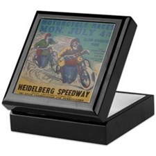 Vintage Race Keepsake Box