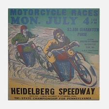 Vintage Race Tile Coaster