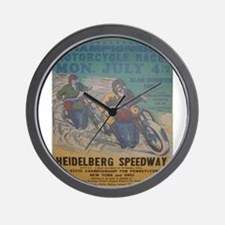 Vintage Race Wall Clock