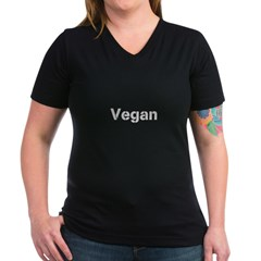 Black on white Vegan Shirt