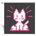 Atari Kitty Shower Curtain
