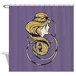 Nouveau Girl Shower Curtain