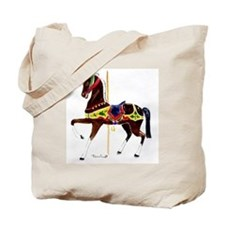 Carousel Animals Tote Bag