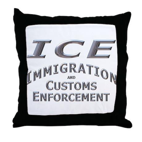 ICE D22 mx Throw Pillow