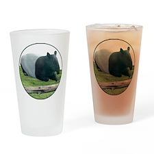 Helaine's Tapir Drinking Glass