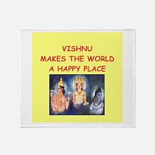 vishnu Throw Blanket