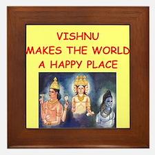 vishnu Framed Tile