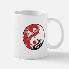 Snake & Crane Yin Yang Mug