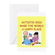 autistic kids Greeting Card